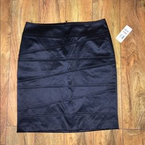 Black Alfani skirt from Macy's